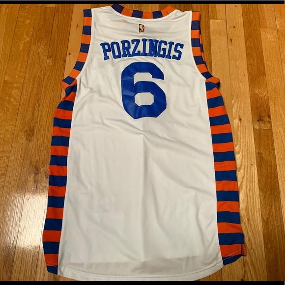 Kristaps Porzingis New York Knicks Jersey